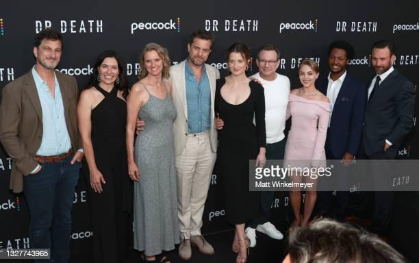 Joshua Jackson, Grace Gummer, Christian Slater, AnnaSophia Robb, Hubert Point-Du Jour and Patrick Macmanus and guests attend the pre-screening...
