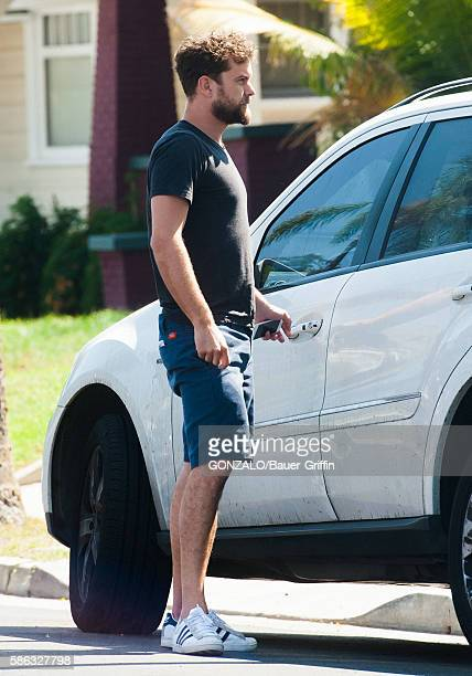 Joshua Jackson is seen on August 05 2016 in Los Angeles California