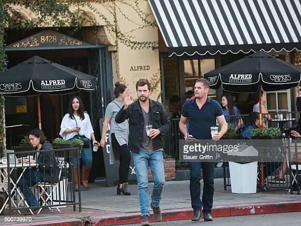Joshua Jackson is seen on December 09 2015 in Los Angeles California