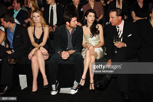 Joshua Jackson Mischa Barton Dylan McDermott Shiva Rose and Andy Garcia attend GIORGIO ARMANI Prive in Los Angeles at Private Residence on February...