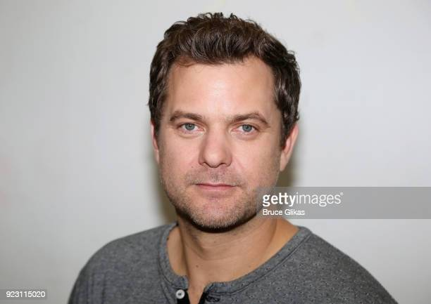 Joshua Jackson poses at broadway's upcoming revival of 'Children Of A Lesser God' first rehearsal at The Roundabout Theatre Company Rehearsal Studios...