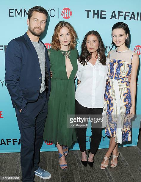 Joshua Jackson Ruth Wilson Maura Tierney and Julia Goldani Telles arrive at the screening of Showtime's 'The Affair' at Samuel Goldwyn Theater on May...