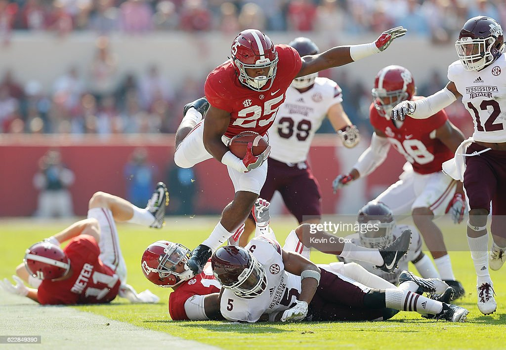 Mississippi State v Alabama : News Photo