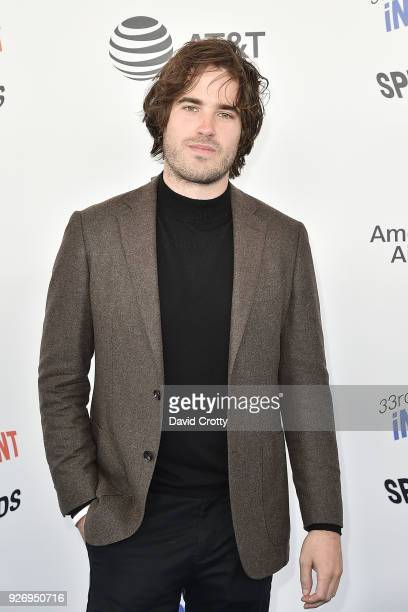 Joshua James Richards attends the 2018 Film Independent Spirit Awards Arrivals on March 3 2018 in Santa Monica California