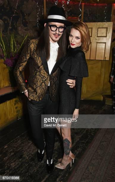 Joshua Kane and Francesca Merrick attend as The Box celebrates its six year anniversary with original Box MC Raven O hosting an allstar show...