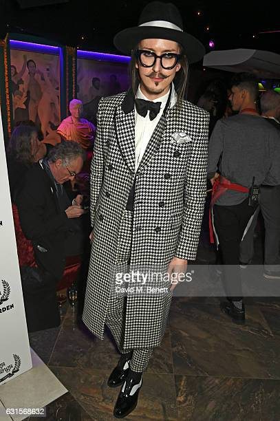 Joshua Kane attends the launch of Bunga Bunga in Covent Garden on January 12 2017 in London England