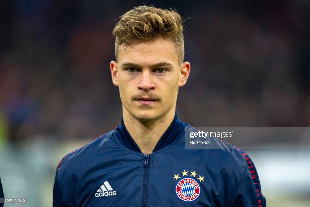 Joshua Kimmich Of Bayern During The Uefa Champions League Group E