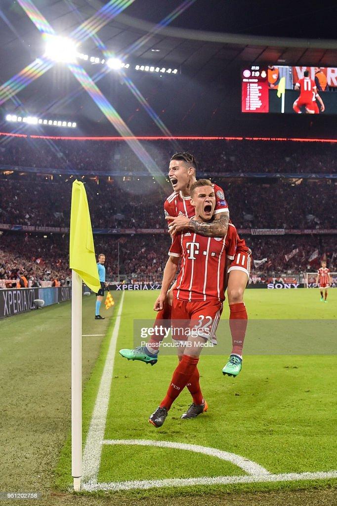 Bayern Muenchen v Real Madrid - UEFA Champions League Semi Final Leg One