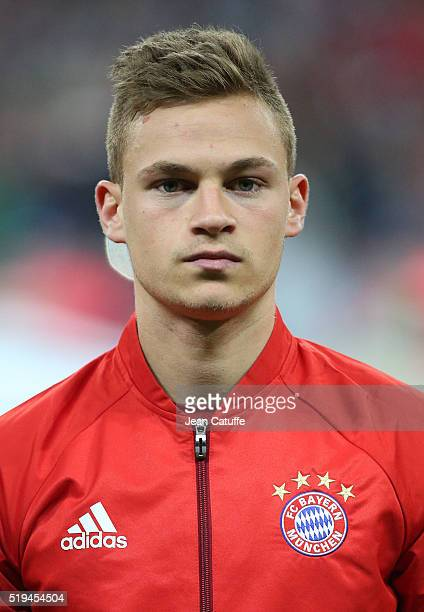Joshua Kimmich of Bayern Muenchen looks on before the UEFA Champions League quarter final first leg match between FC Bayern Muenchen and SL Benfica...