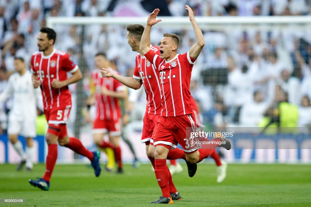 Real Madrid v Bayern Munchen - UEFA Champions League : News Photo