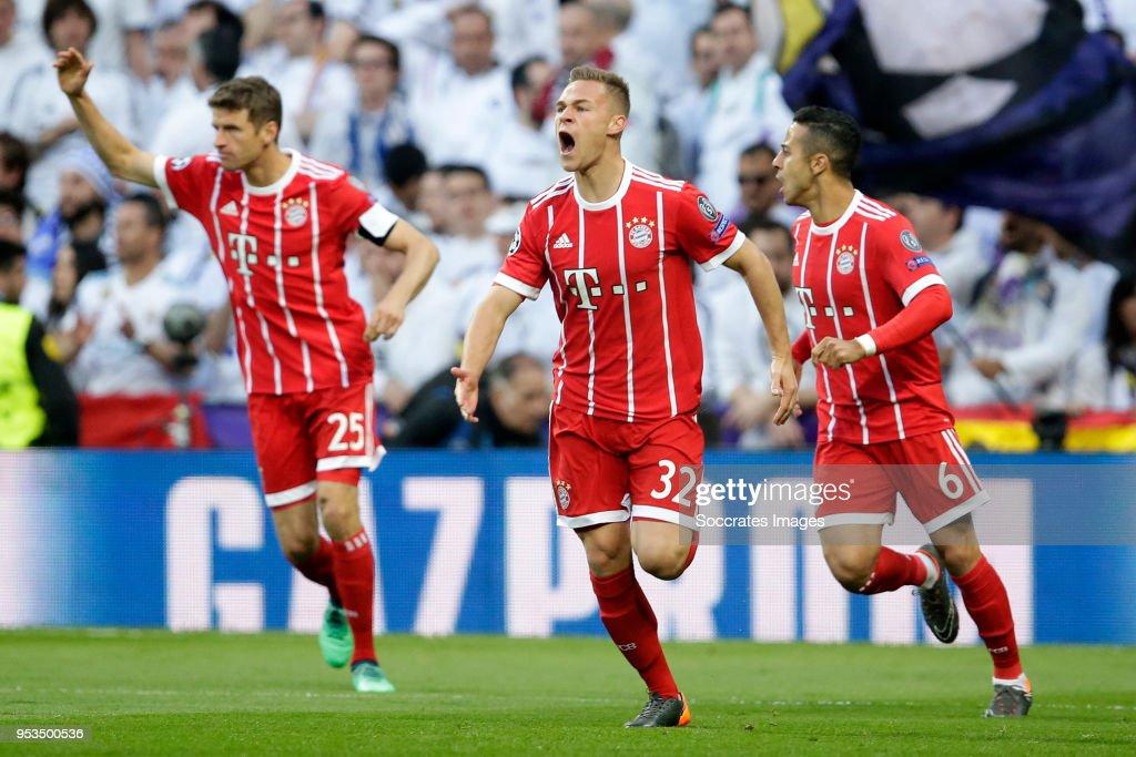 Real Madrid v Bayern Munchen - UEFA Champions League : News Photo