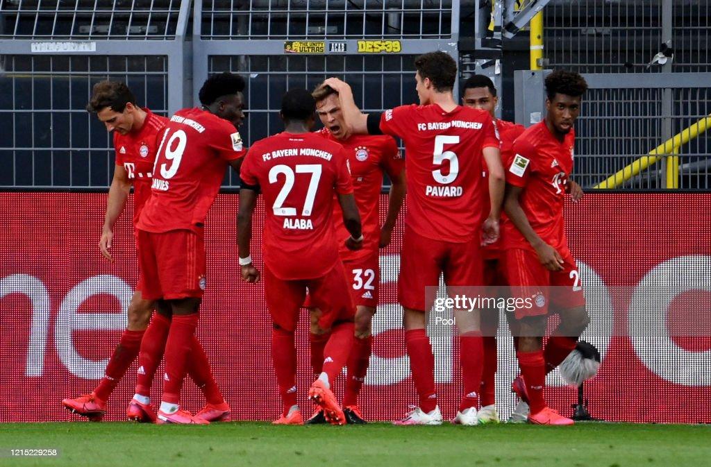 Borussia Dortmund v FC Bayern Muenchen - Bundesliga : Foto di attualità
