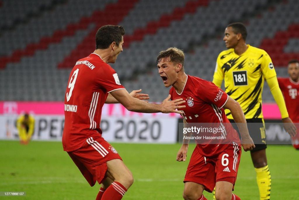 FC Bayern München v Borussia Dortmund - Supercup 2020 : ニュース写真
