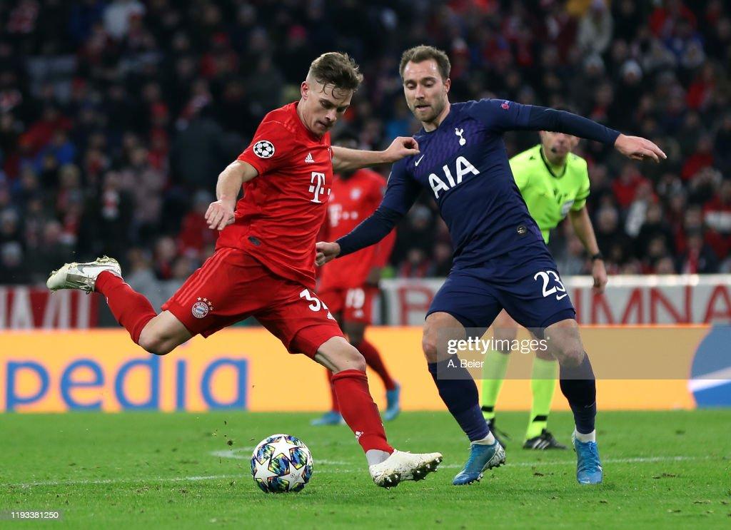 Bayern Muenchen v Tottenham Hotspur: Group B - UEFA Champions League : News Photo