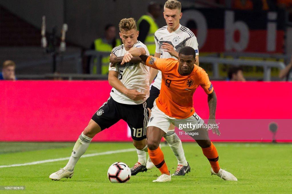 Netherlands v Germany - UEFA Nations League A : News Photo