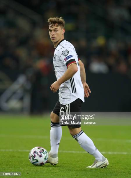 Joshua Kimmich of Germany during the UEFA Euro 2020 Qualifier between Germany and Belarus on November 16 2019 in Moenchengladbach Germany