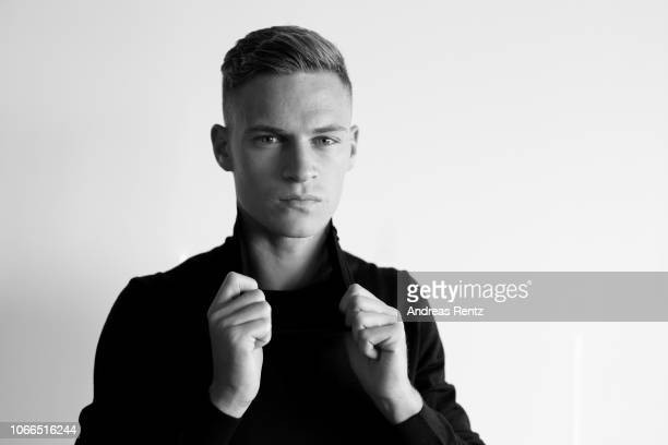 Joshua Kimmich player of football club Bayern Munich is photographed on September 13 2018 in Starnberg Germany