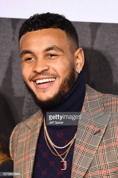 Joshua King Jr attends the European Premiere of Creed II at BFI IMAX on November 28 2018 in London England