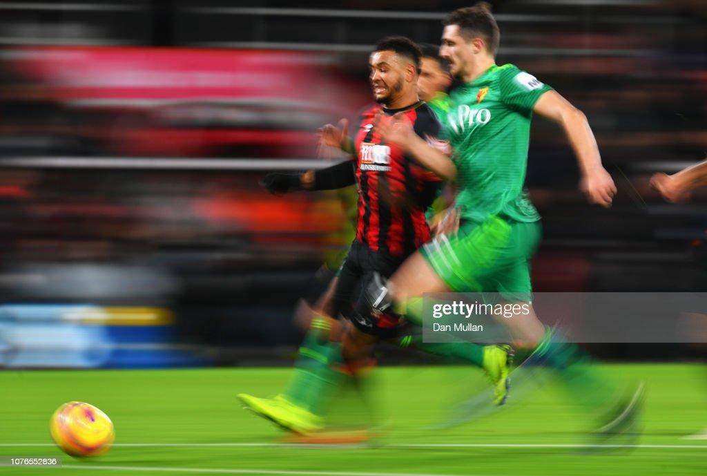 AFC Bournemouth v Watford FC - Premier League : Nachrichtenfoto