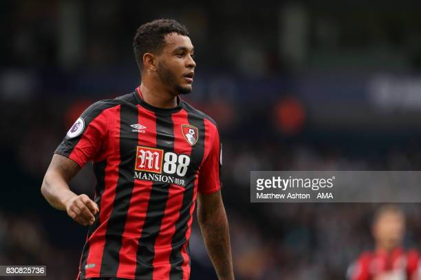 Joshua King of AFC Bournemouth during the Premier League match between West Bromwich Albion and AFC Bournemouth at The Hawthorns on August 12 2017 in...