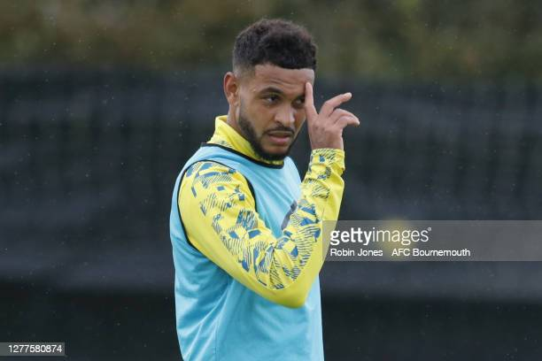 Joshua King of Bournemouth during a training session at the Vitality Stadium on September 30 2020 in Bournemouth England