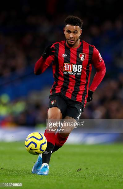 Joshua King of Bournemouth during the Premier League match between Chelsea FC and AFC Bournemouth at Stamford Bridge on December 14, 2019 in London,...