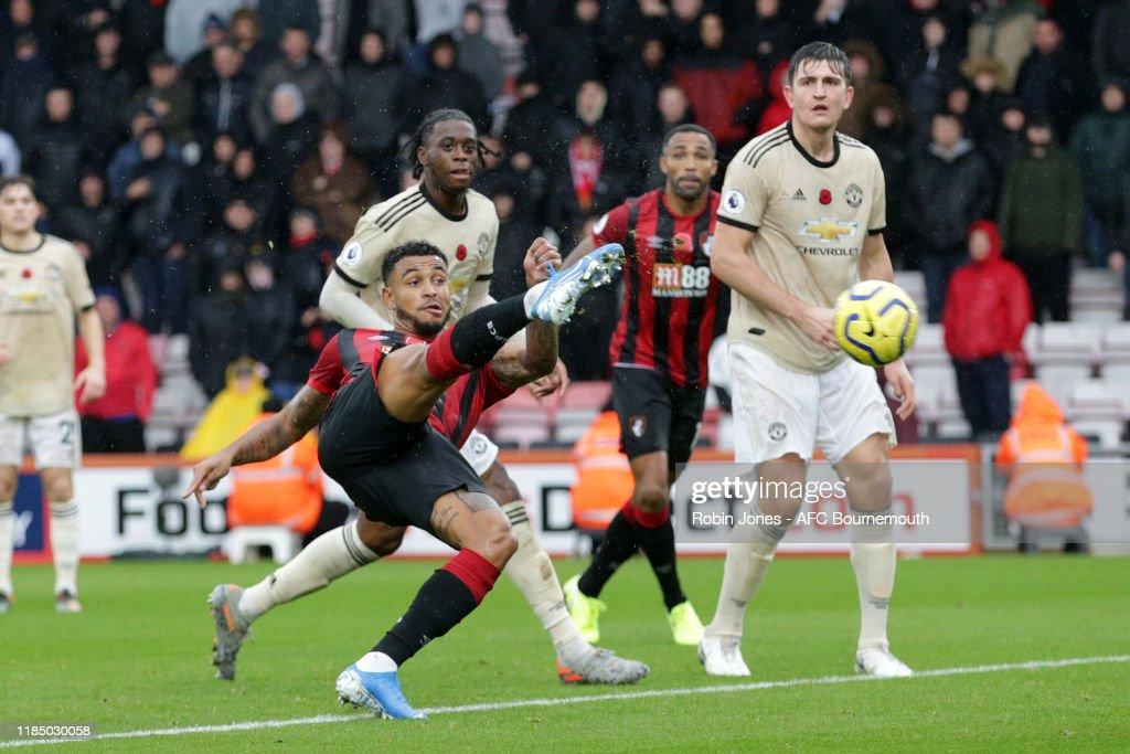 AFC Bournemouth v Manchester United - Premier League : ニュース写真
