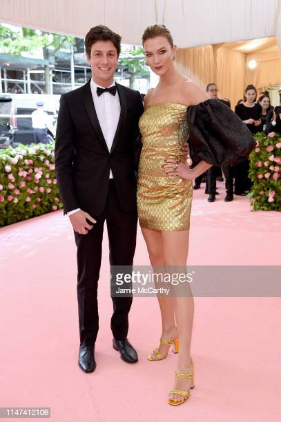 Joshua Kushner and Karlie Kloss attend The 2019 Met Gala Celebrating Camp Notes on Fashion at Metropolitan Museum of Art on May 06 2019 in New York...