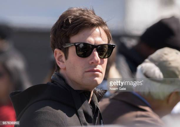 Joshua Kushner attends March For Our Lives on March 24 2018 in Washington DC