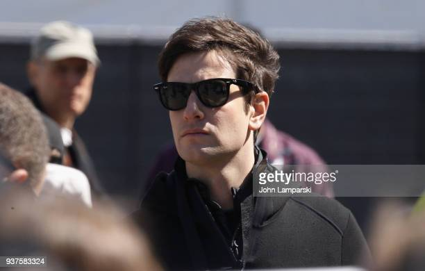 Joshua Kushner attrends the March For Our Lives on March 24 2018 in Washington DC