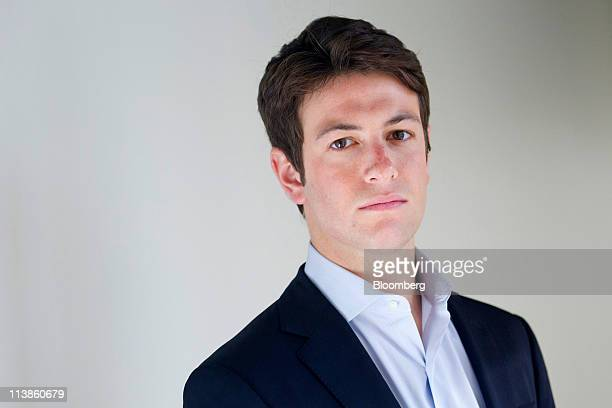 Joshua Kushner chief strategy officer of Vostu stands for a photograph in New York US on Monday May 9 2011 Kushner and Chief Executive Officer Daniel...