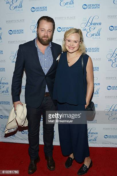 Joshua Leonard and Alison Pill attend the Heaven On Earth Gala The Perry MacFarlane Legacy honoring 20th Century Fox TV Animation Amanda Seyfried And...