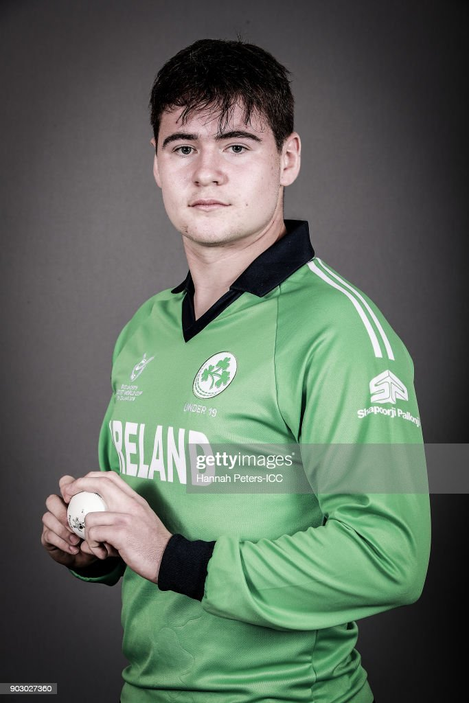 Ireland ICC U19 Cricket World Cup Headshots Session : News Photo
