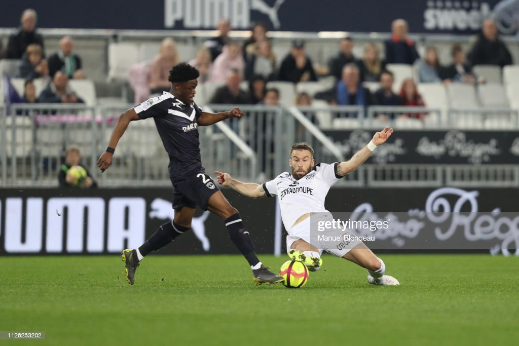 FRA: Girondins de Bordeaux v EA Guingamp - Ligue 1