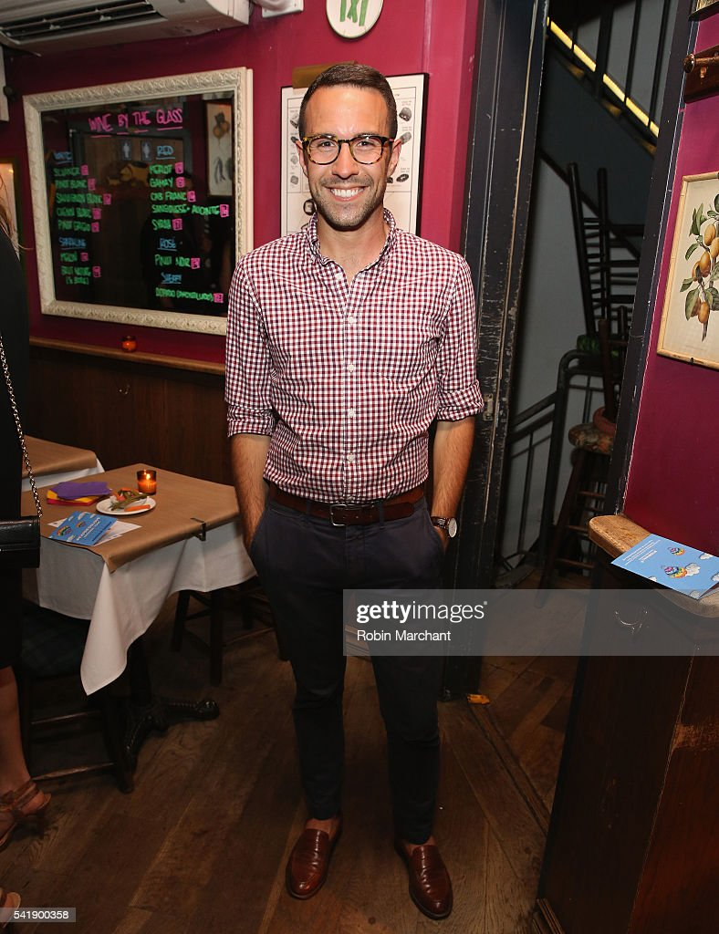 Joshua Masten attends American Express Launches National LGBTQ PRIDE Campaign To 'Express Love' at The Spotted Pig on June 20, 2016 in New York City.