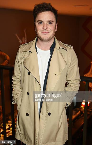 Joshua McGuire attends the press night after party celebrating The Old Vic's production of King Lear at the Ham Yard Hotel on November 4 2016 in...