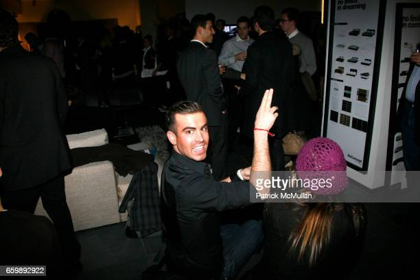 Joshua McKinley attends 7th Annual BoCONCEPT/KOLDESIGN Holiday Party at Bo Concept Madison Ave on December 15 2009 in New York