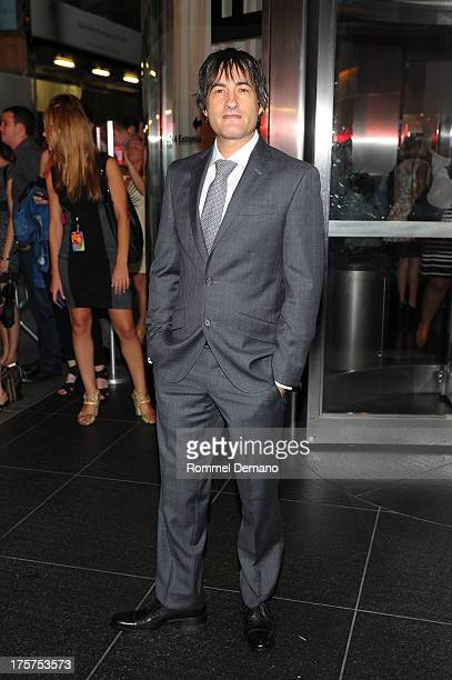 """Joshua Michael Stern attends the """"Jobs"""" premiere at The Museum of Modern Art on August 7, 2013 in New York City."""
