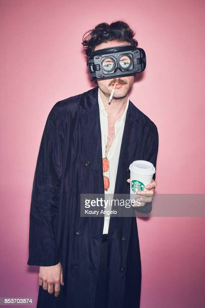 Joshua Michael Tillman known as Father John Misty is photographed for Under the Radar on March 4 2017 in Los Angeles California PUBLISHED IMAGE