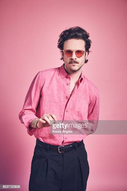 Joshua Michael Tillman known as Father John Misty is photographed for Under the Radar on March 4 2017 in Los Angeles California