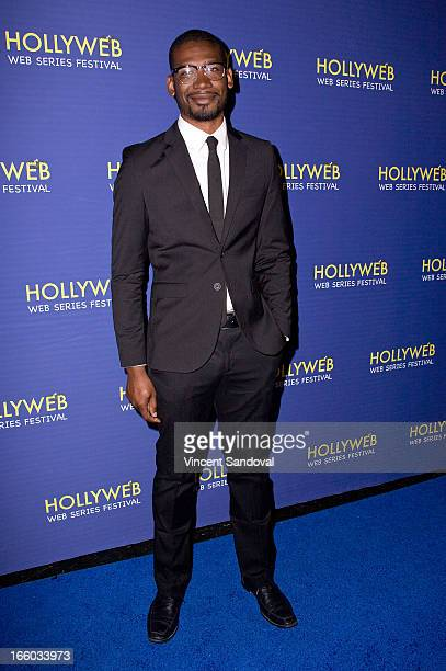 Joshua Miller attends the 2nd annual HollyWeb Festival at Avalon on April 7 2013 in Hollywood California