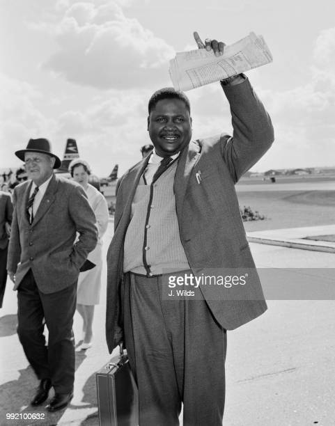 Joshua Nkomo leader of the ZAPU party September 1962 Sir Edgar Whitehead the Prime Minister of Southern Rhodesia had just outlawed the party