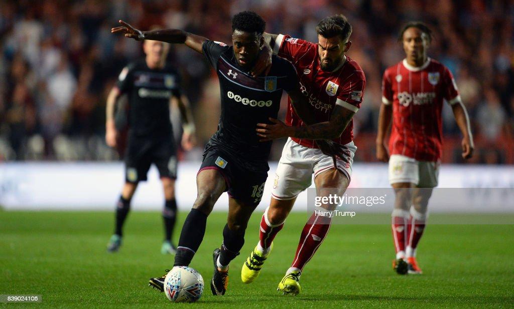 Bristol City v Aston Villa - Sky Bet Championship : News Photo
