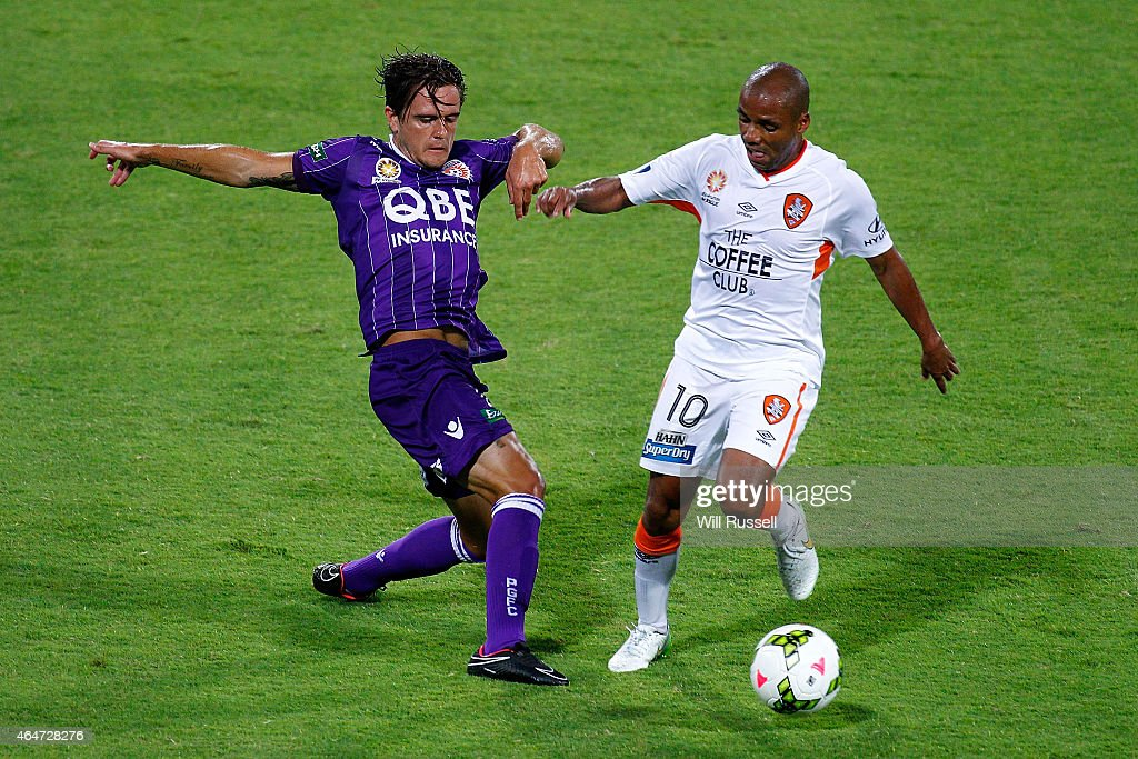 A-League Rd 19 - Perth v Brisbane : News Photo