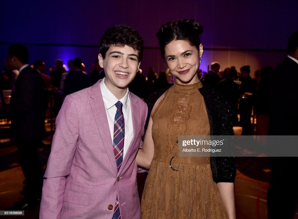 Joshua Rush (L) and Lilan Bowden attend A Legacy Of Changing Lives presented by the Fulfillment Fund at The Ray Dolby Ballroom at Hollywood & Highland Center on March 13, 2018 in Hollywood, California.