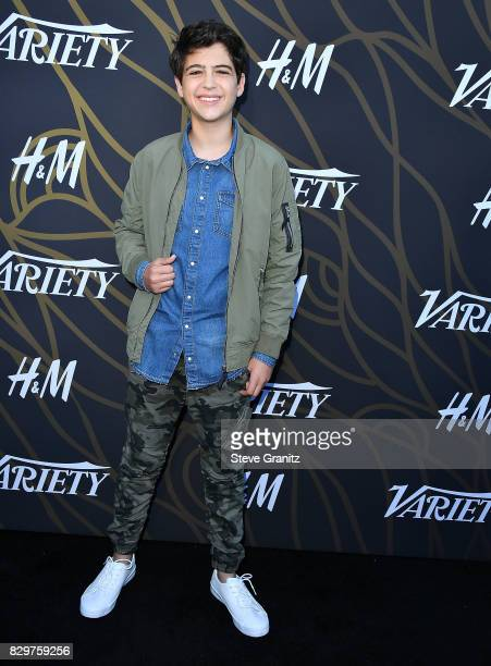 Joshua Rush arrives at the Variety Power Of Young Hollywood at TAO Hollywood on August 8 2017 in Los Angeles California