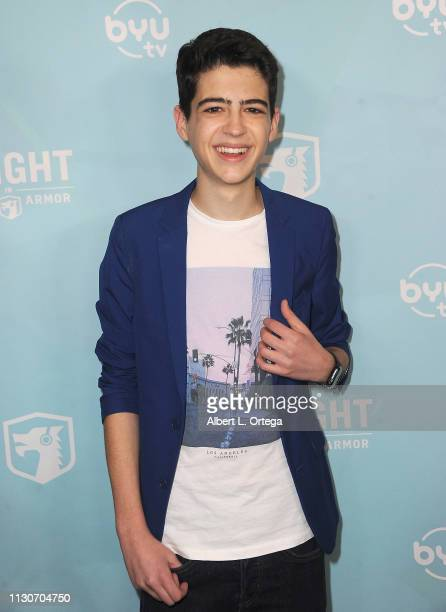 Joshua Rush arrives for the Los Angeles Special Screening Of BYUtv's New Series Dwight In Shining Armor held at Pacific Theatres at The Grove on...