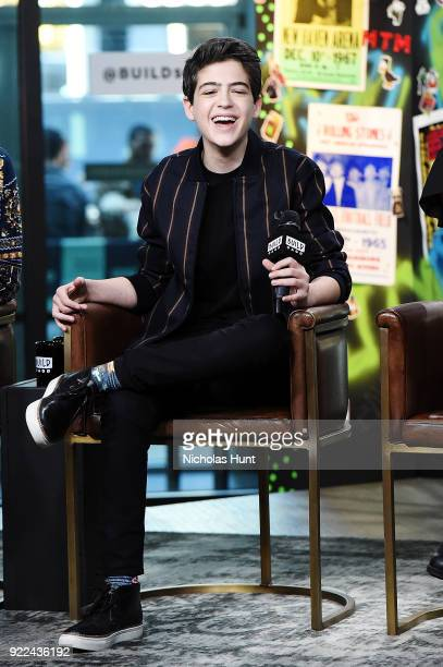 Joshua Rush attends Build Series to discuss 'Andi Mack' at Build Studio on February 21 2018 in New York City
