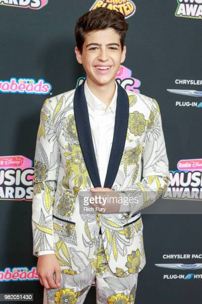 Joshua Rush attends the 2018 Radio Disney Music Awards at Loews Hollywood Hotel on June 22 2018 in Hollywood California