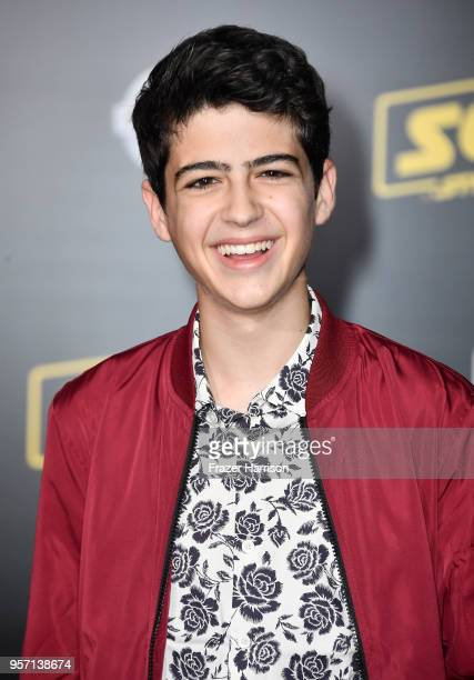 Joshua Rush attends the premiere of Disney Pictures and Lucasfilm's Solo A Star Wars Story at the El Capitan Theatre on May 10 2018 in Los Angeles...